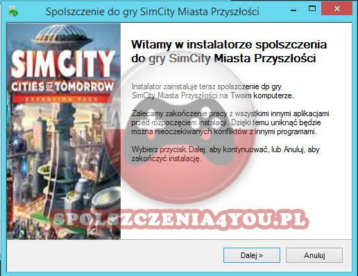 SimCity Miasta Przyszłości spolszczenie