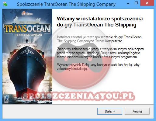 TransOcean The Shipping Company spolszczenie