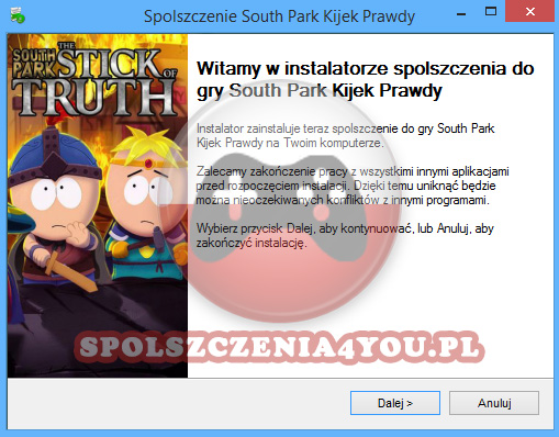 South Park Kijek Prawdy spolszczenie pobierz