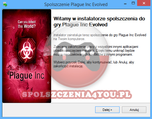 Plague Inc Evolved Spolszczenie pobierz
