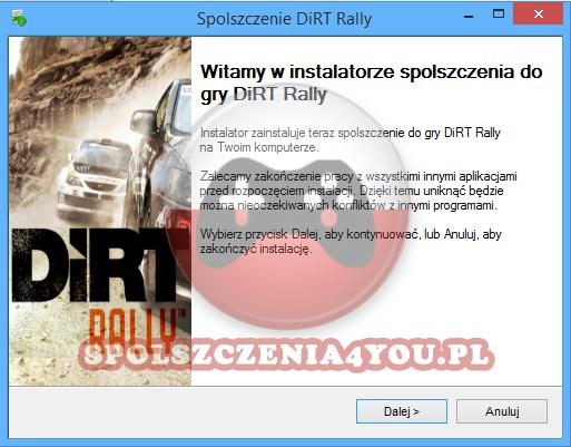 DiRT Rally Spolszczenie pobierz