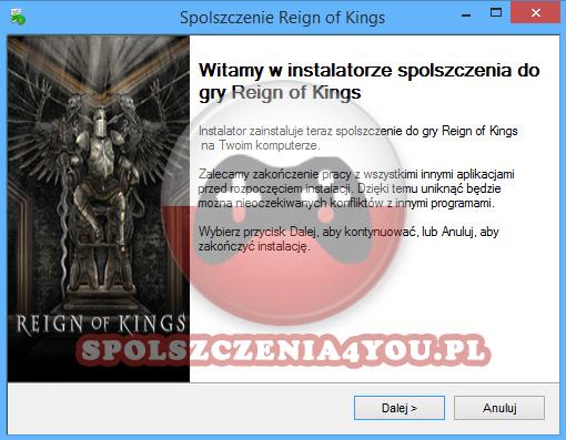 Reign of Kings Spolszczenie pobierz