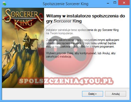 Sorcerer King spolszczenie pobierz