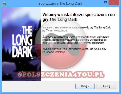 The Long Dark spolszczenie pobierz