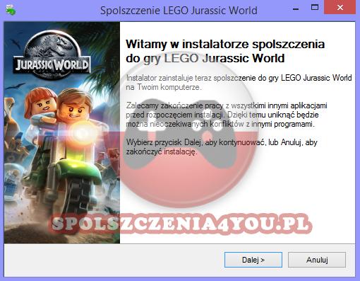 LEGO Jurassic World spolszczenie chomikuj