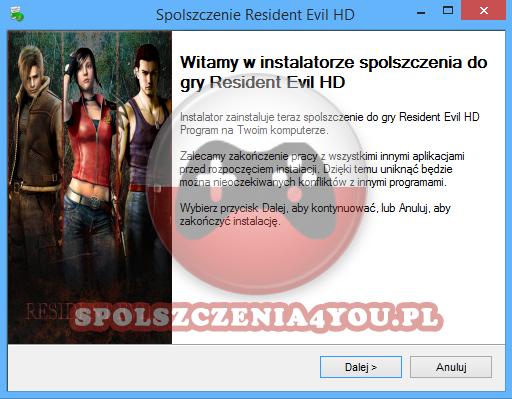 Resident Evil HD Remaster Spolszczenie pobierz