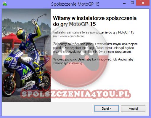 MotoGP 15 Spolszczenie pobierz