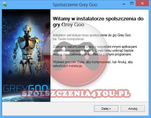 Grey Goo spolszczenie pobierz