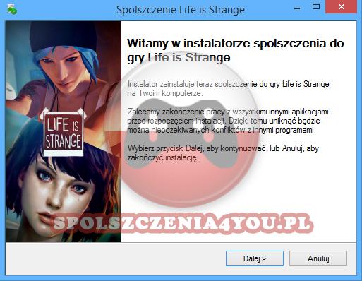 Life is Strange spolszczenie pobierz