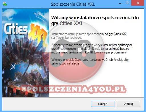 Cities XXL spolszczenie pobierz