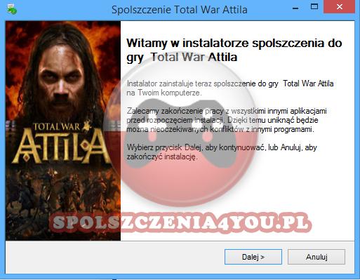 Total War Attila spolszczenie pobierz