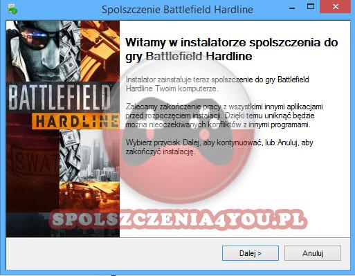 Battlefield Hardline Spolszczenie pobierz