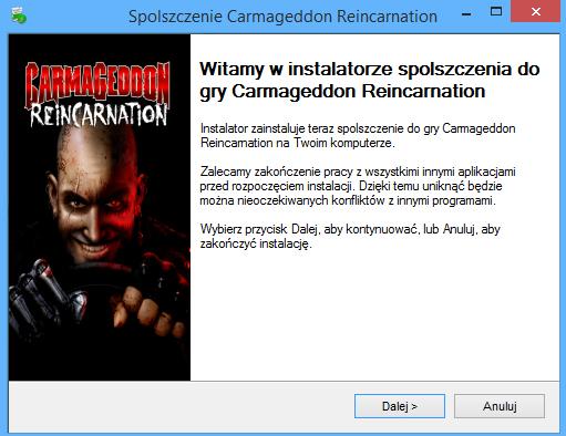 Carmageddon Reincarnation Spolszczenie pobierz
