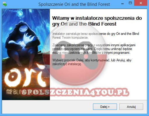 Ori and the Blind Forest spolszczenie pobierz