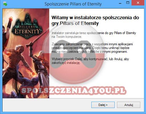 Pillars of Eternity spolszczenie pobierz