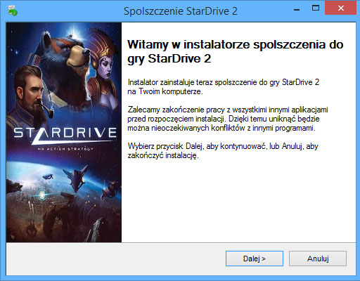 StarDrive 2 Spolszczenie pobierz