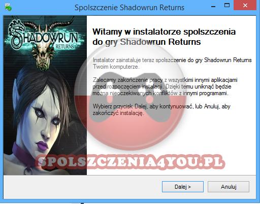 Shadowrun Returns Spolszczenie pobierz