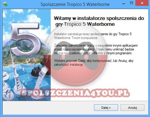 Tropico 5 Waterborne spolszczenie pobierz
