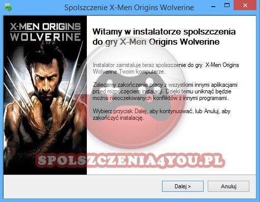 X-Men Origins Wolverine Spolszczenie pobierz