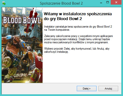 Blood Bowl 2 spolszczenie pobierz