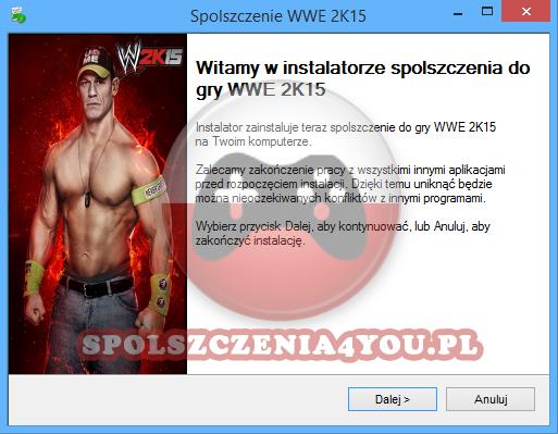 WWE 2K15 spolszczenie
