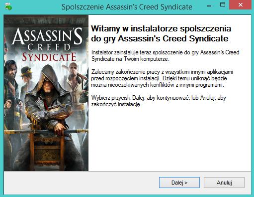 Assassin's Creed Syndicate spolszczenie