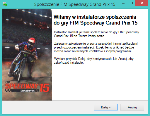 FIM Speedway Grand Prix 15 spolszczenie