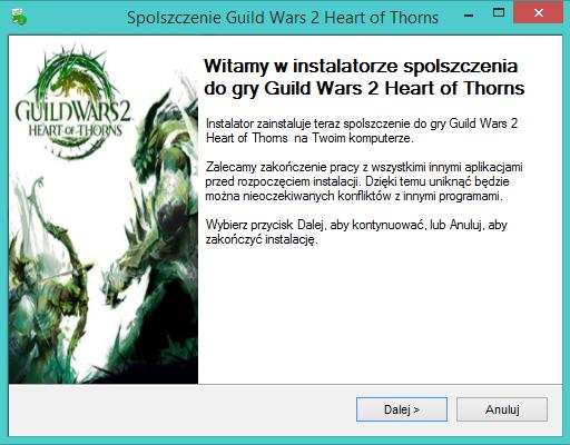 Guild Wars 2 Heart of Thorns spolszczenie