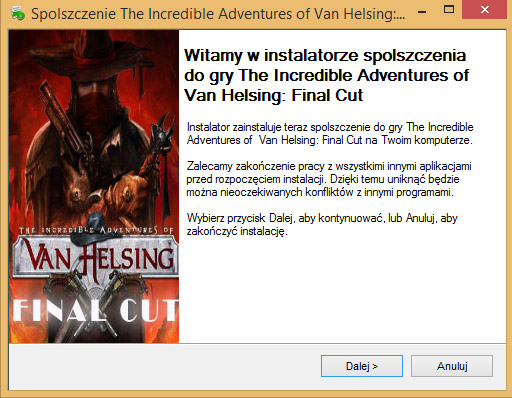 The Incredible Adventures of Van Helsing Final Cut spolszczenie