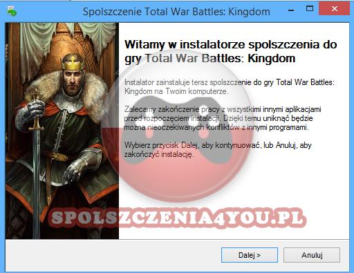 Total War Battles Kingdom spolszczenie