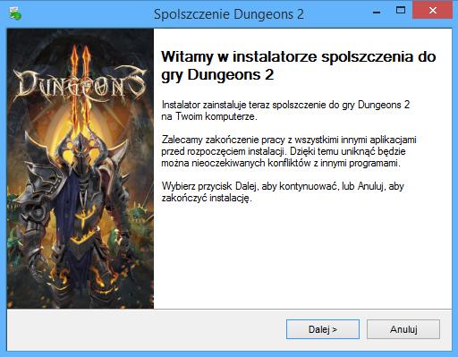 Dungeons 2 spolszczenie