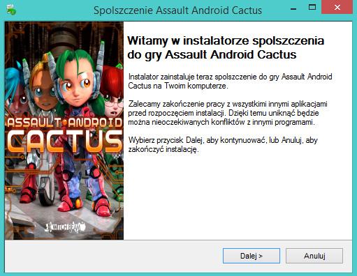 Assault Android Cactus spolszczenie