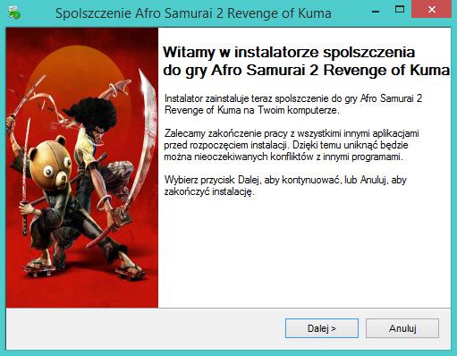 Afro Samurai 2 Revenge of Kuma spolszczenie