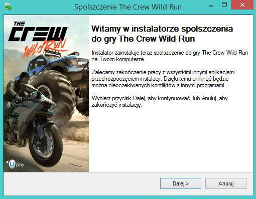 The Crew Wild Run spolszczenie