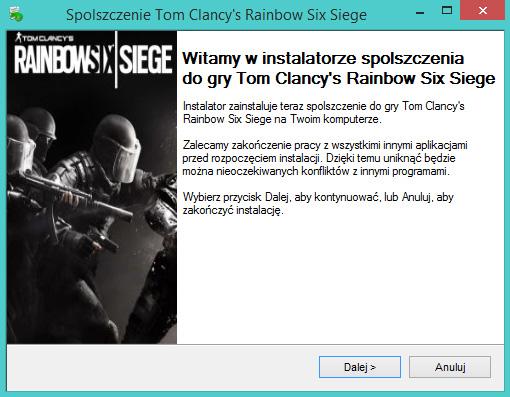 Tom Clancy's Rainbow Six Siege spolszczenie