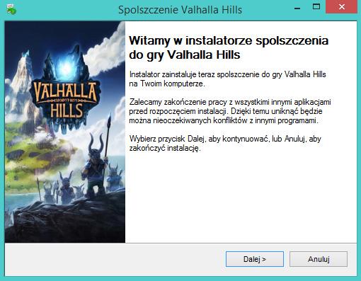 Valhalla Hills spolszczenie