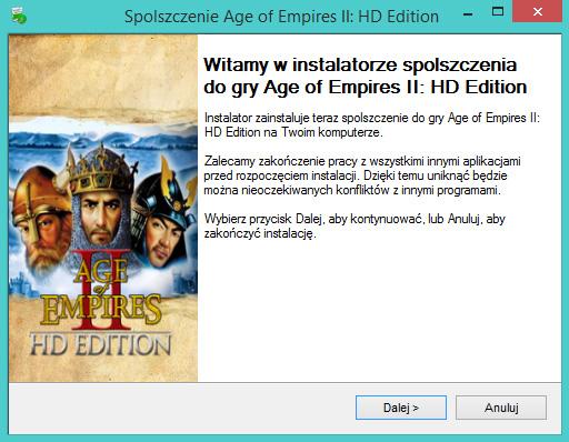 Age of Empires 2 HD Edition spolszczenie