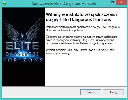 Elite Dangerous Horizons spolszczenie