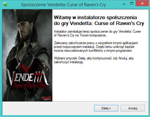 Vendetta Curse of Raven's Cry spolszczenie
