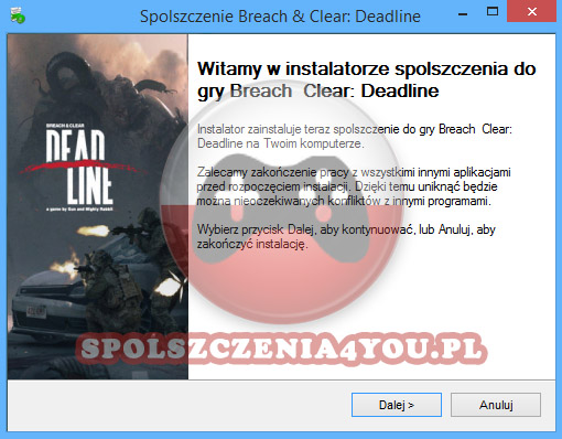 Breach and Clear Deadline spolszczenie