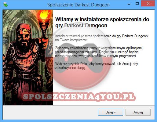 Darkest Dungeon spolszczenie