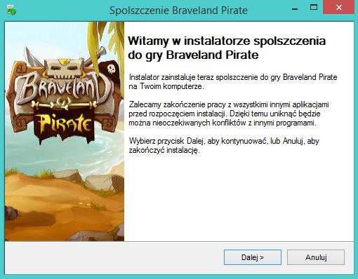 Braveland Pirate spolszczenie