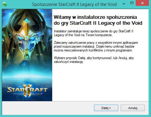 StarCraft 2 Legacy of the Void spolszczenie