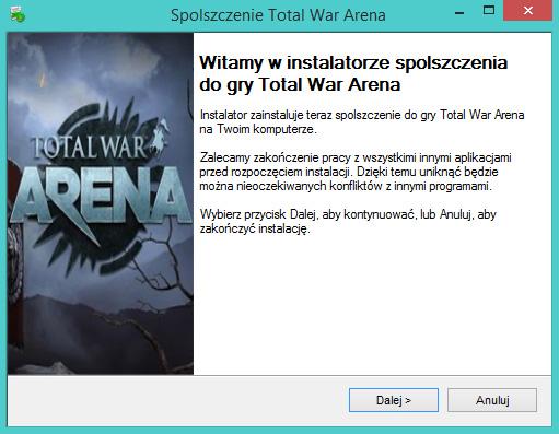 Total War Arena spolszczenie