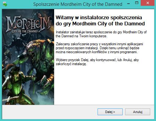 Mordheim City of the Damned spolszczenie