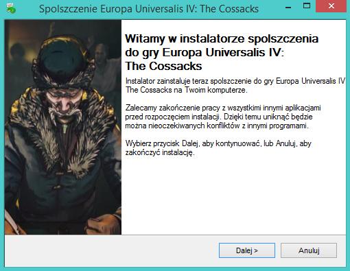 Europa Universalis IV The Cossacks spolszczenie