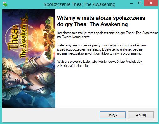 Thea The Awakening spolszczenie