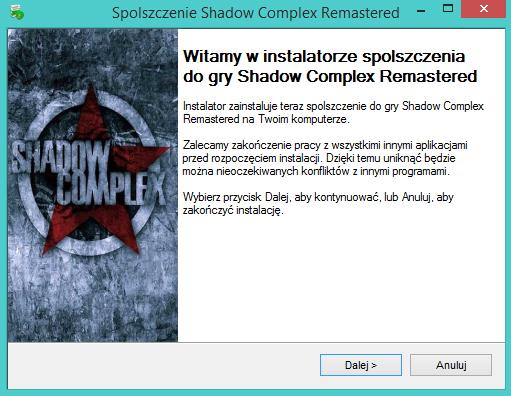 Shadow Complex Remastered spolszczenie