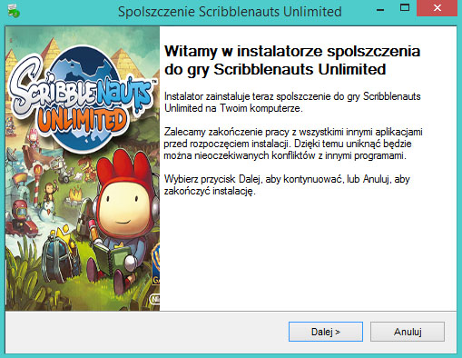 Scribblenauts Unlimited spolszczenie