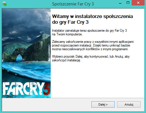 Far Cry 3 Spolszczenie